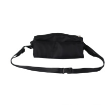 Wholesale promotion polyester sports running waterproof waist bag sling crossbody custom fanny pack