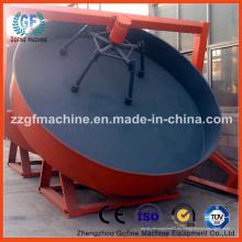 Máquina de granulación del disco del fertilizante del abono animal