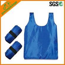 Großhandelsfalte aufbereitete Polyester-Tasche
