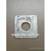 Rondelles carrées, rondelles plates, Arandela Cuadrada