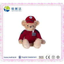 Soft Plush Royal Police Bear Toy