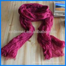 Вискоза длинный крашение оптового шарфа хиджаба