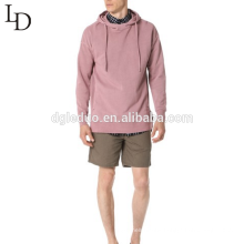 wholesale custom design cotton long sleeve men hooded sweatshirt