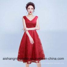 Luxurious Short Plus Size Black Lace Evening Dresses