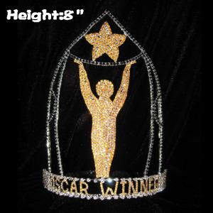 Coronas del concurso OSCAR STAR de 8 pulgadas de altura