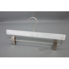 Wholesale Plastic Hanger, White Pants Hanger, Best Sell Plastic Hanger