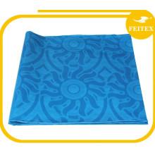 African New Coming Cotton Bazin / Guinea Brocade Oil Color azul Feitex Textil
