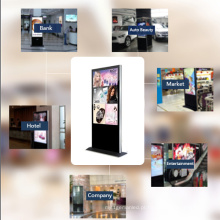 Máquina autônoma tipo gabinete para publicidade