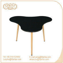 china good quality wood legs PP Dining Table