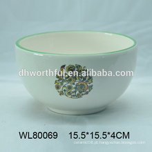 Decal de alta qualidade cerâmica tigelas