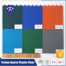 quadra de basquete para vôlei / com quadra de tênis / patinação sobre rodas piso de interligação com PP