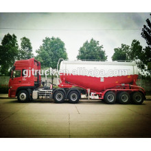 Trailer Truck Bulk powder/bulk powder tank trailer/cement powder truck trailer/mixer powder tank trailer/dry powder tank trailer