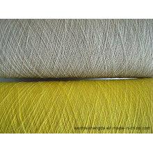 Tricot à la main tissage couleur doux fil de cachemire