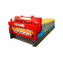 Zimbabwe klantbestelling Double Glazed Roll Forming Machine