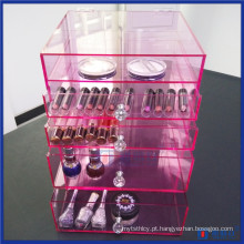 Pink Glam Vanity Acrylic Lux Box