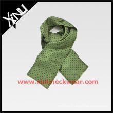 Green 2015 nouvelle écharpe en soie imprimée