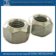 M12-1.75 Tuercas hexagonales de acero al carbono DIN980V