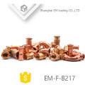 Encaixe de tubulação de cobre em tamanho personalizado EM-F-B217