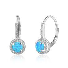 New Fashion Opal Earring Popular jewelry Opal Stone Earrings for Girl