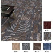 Azulejos de la alfombra de la oficina del PP con el backing del PVC
