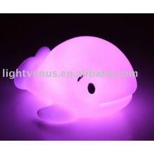 Baby led Cetacea aminal luz de la noche