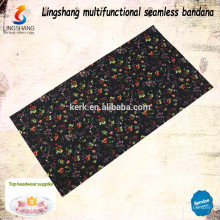 Wholesale decorative multifunctional polyester headwear custom bandana