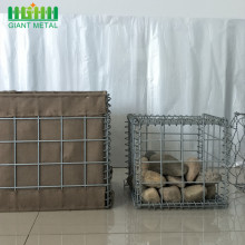 Low Price Galvanized Gabion Wire Mesh Box