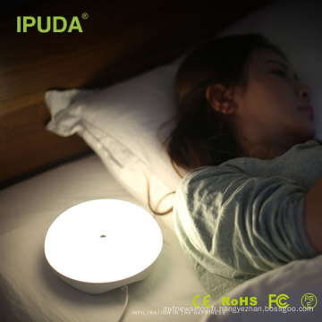 Morden conduit chambre lampe de chevet capteur hôtel lit lampe de lecture avec CE FCC ROSH