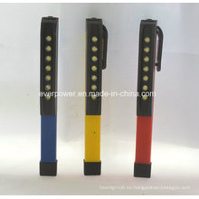 Mini bolsillo magnético gire clip LED Penlight (WL-1016)
