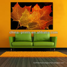 New Design Autumn Maple Leaf images printing Artwork for wall decor