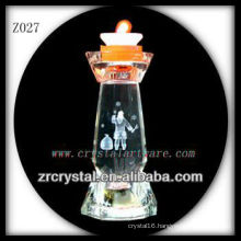 Popular Crystal Candle Holder Z027