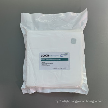 Soft Textured 180gsm Knitted Polyester Cleanroom Wipes