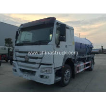 SINOTRUK HOWO 266hp Fecal sewage suction truck