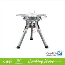 Powerful Gas Camping Stove with large pot support