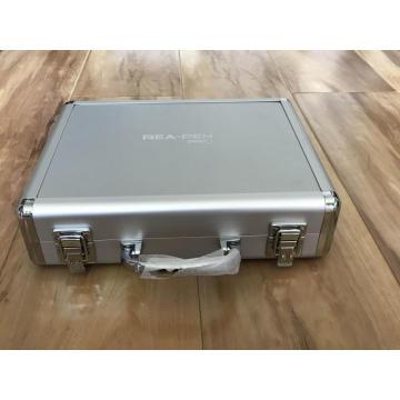 White Color Aluminum Alloy Case with Cut-out Foam
