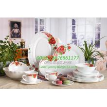 Sustainable Microwave Pyrex Dinner Set