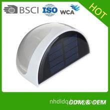 Solar Panel Outdoor Led Solar Motion Sensor Lights , Pir Wall Lamp