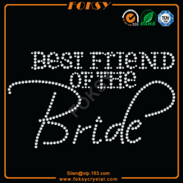 Best Friend Of Bride transferencias para camisetas al por mayor
