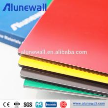 Panel compuesto de aluminio de la placa de la muestra del anuncio de la impresión digital colorida