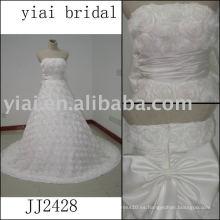 2011 Latest La mayoría de la nueva llegada real de alta calidad de la llegada de cristal piedras bola stylerystal embellecido vestidos de boda 2011 JJ2428