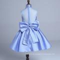 blaue wulstige erstklassige Blumenmädchen kleiden die Hochzeit Weihnachtsfest tanzende Kinder neue Jahrkinder neue Arten retail & wholesale