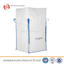 Low cost super sacks coffee bean bag , big bag 200kg with factory price in Hebei