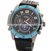 2015 Новые спортивные мужские промотированные силиконовые часы