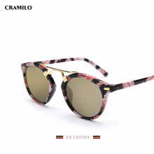 CS2704 fashionable hand polished sunglasses sunglass factory