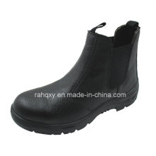 Popular No Shoelace MID-Cut Safety Shoes (HQ01019)