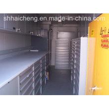 China-modernes Fertigbehälter-Haus für Verkauf