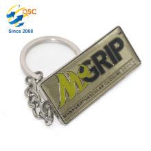 Neues Design heißer Verkauf benutzerdefinierte Hand gestempelt benutzerdefinierte Werbegeschenke Schlüsselbund