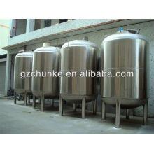 Tanque de armazenamento da água do aço inoxidável para a planta da purificação de água