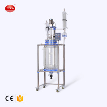 CE Customized Standard Chemical Glass Reactor 100L
