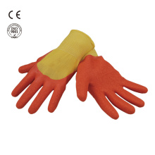 latex coated safety work glove